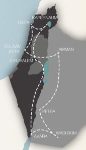 Israel-Jordanien_Karte